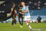 Man City bungkam Arsenal tiga gol tanpa balas