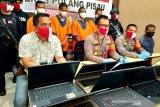Polisi ringkus kawanan pencuri laptop sekolah di Pulpis