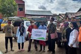 PT Pegadaian Kanwil VI salurkan bantuan kepada korban banjir Bantaeng