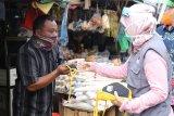 Cegah penyebaran COVID-19, Pemprov Lampung minta pedagang gunakan masker