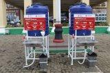Polda Lampung terima bantuan dua wastafel dari PMA