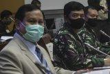 Prabowo apresiasi dukungan semua fraksi di DPR RI perkuat TNI