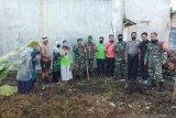Tim gabungan Dinkes Pasaman Barat gotong royong bersihkan sarang nyamuk antisipasi DBD
