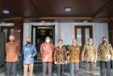 Mahfud MD dampingi Purnawirawan TNI bertemu Jokowi di Istana Bogor