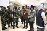 Panglima TNI-Kapolri tinjau kesiapan pusat perbelanjaan di Malang jelang normal baru