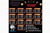 13 daerah di Jateng bisa nikmati gerhana matahari cincin pada 21 Juni 2020