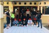 Tim Maleo Polda Sulut  tangkap lima pelaku penganiayaan di Ranomuut