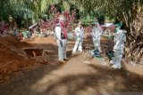 Pemakaman pasien PDP COVID-19 di Mukomuko sesuai protokol kesehatan