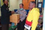 Polres Jayawijaya bantu sembako kepala suku di Wamena
