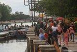 Wisata siring  Banjarmasin  ditutup tiga bulan