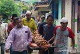 Jenazah dua bocah tewas di Global Prima Medan tiba di rumah duka