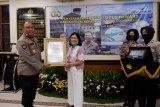 Terapkan sistem pengamanan yang baik, DSLNG raih sertifikat emas dari Polri