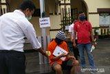 Rekonstruksi ungkap duel pegawai rumah makan di Bukittinggi karena sakit hati yang sudah lama dipendam