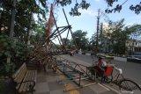 Kisruh pembongkaran baliho di Banjarmasin berakhir laporan polisi