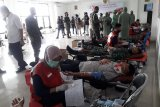 Denpom II/3 Lampung gelar donor darah
