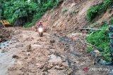 Ruas jalan ke dua kecamatan di Kabupaten Lumajang tertimbun longsor