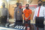 Satreskrim Narkoba Polres Pasaman Barat tangkap pengedar 75 gram sabu (Video)