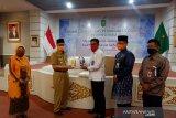 KPU Riau terima bantuan 12.000 masker untuk keperluan Pilkada 2020