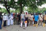 Polisi di Sulsel lakukan edukasi untuk memutus mata rantai penularan COVID-19