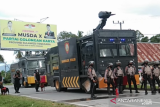 Polisi siapkan anjing pelacak amankan demo penolakan 500 TKA