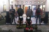 Polisi bekuk dua pencuri tabung gas  elpiji