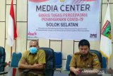 Hasil tes usap keluar, pasien positif COVID-19 Solok Selatan sedang ke Alahan Panjang