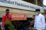 Bupati Temanggung: Pembeli dan pedagang pasar wajib pakai masker