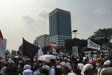 Demo RUU HIP, jalan Gatot Subroto arah Slipi ditutup