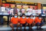 Polda Papua Barat bongkar sindikat penambangan emas ilegal