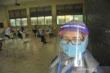 Calon Siswa SMA  Ikuti Tes Tertulis Dengan Protokol Kesehatan
