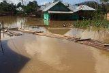 Banjir surut, warga Konawe Utara mulai bersihkan rumahnya
