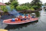 Tim Basarnas Kendari cari nelayan korban tabrakan