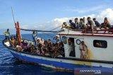 Pengungsi Rohingya terdampar