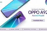 OPPO hadir dengan varian warna Aurora Purple  seri A92