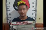 Buron selama satu bulan, penganiaya anggota polisi ini diringkus