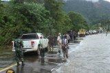 Di Konawe Utara, akses jalan menuju desa terisolasi mulai terbuka