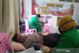 HUT Bhayangkara ke-74, donor darah di Polres Payakumbuh ikutkan TNI dan Satpol-PP