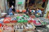 Stabil, harga ikan segar dan sayuran di Solo