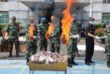 Bea Cukai musnahkan barang selundupan hasil operasi Lanal di Jambi