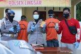 Polsek Lingsar meringkus napi asimilasi jambret telepon seluler