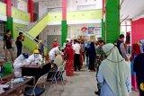 Pedagang Pasar Saik Kuala Pembuang ikuti tes cepat massal
