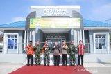 Danlanal Palembang terima hibah bangunan Pos TNI-AL Kuala Tungkal