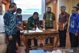 Gubernur-BKSDA Sulteng  tandatangani PKS pembangunan tujuh ruas jalan