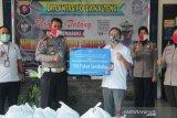 Jasa Raharja Kalteng salurkan bantuan untuk warga terdampak COVID-19