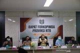 Gubernur NTB meminta bupati dan wali kota perketat protokol kesehatan