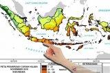 BMKG memprakirakan curah hujan di Yogyakarta turun signifikan pada Juli