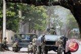 Militer temukan pesawat terbakar diduga mengangkut ratusan kilogram narkoba