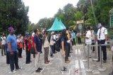 Balai Konservasi simulasi layanan wisata Candi Borobudur