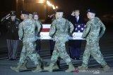 Salah satu Maninir Amerika terakhir yang tewas di Afganistan dipulangkan