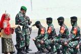 600 personel TNI Yonif 100/PS amankan perbatasan RI-PNG